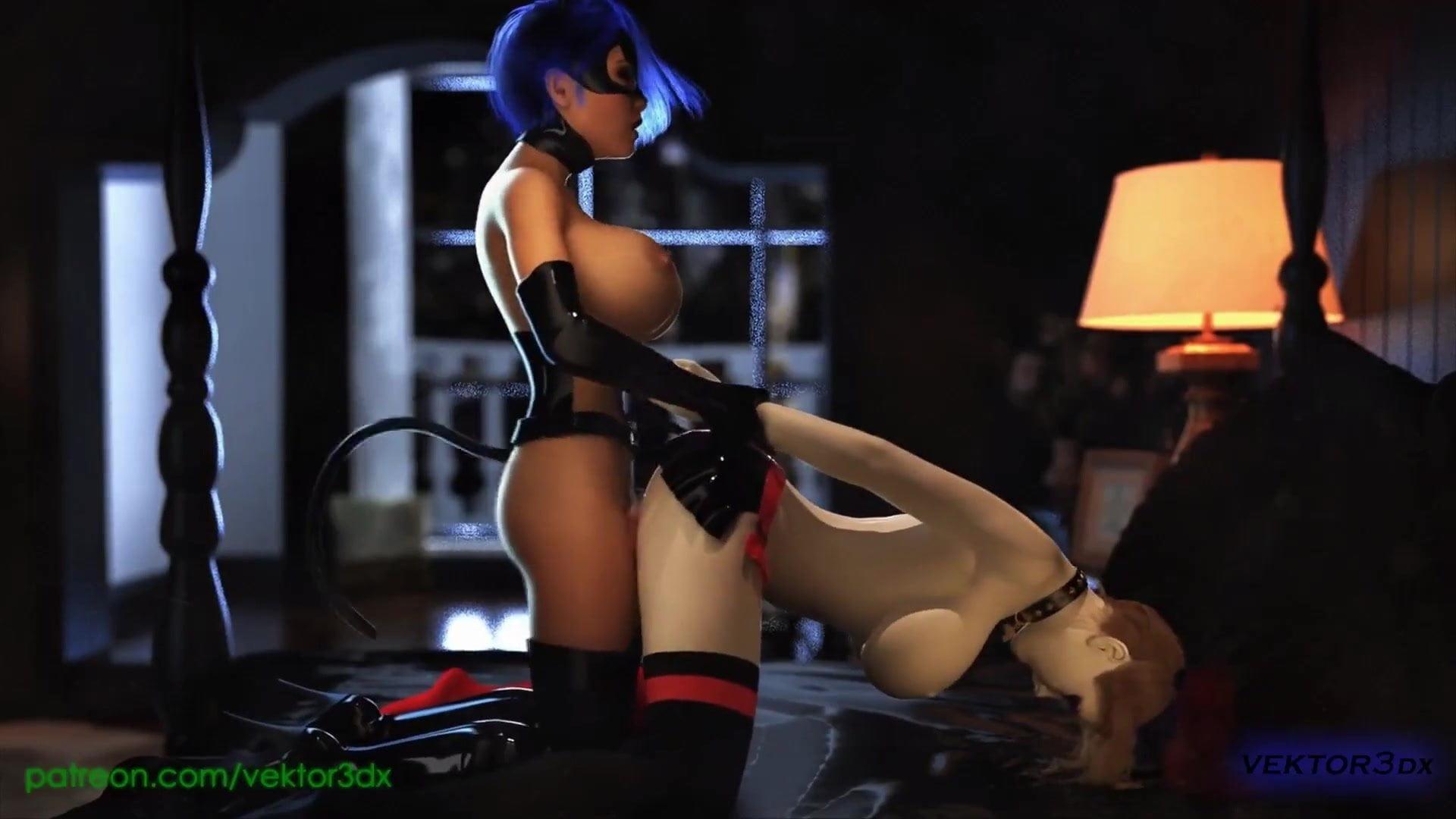 Harley Quinn Cosplay Anal