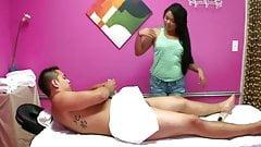 Spy Camera Massage Turns Into Sex for Money