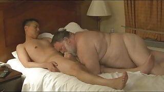 Chaser Fucks A Sexy Hairy Chubby Polar Bear Daddy