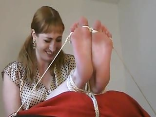 Boy fetish caning - Sexy bastinado - cane her soles