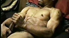 Black man masturbating and cums