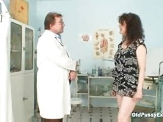 Examining cock - Mature karla needs her extremely hairy old pussy examined