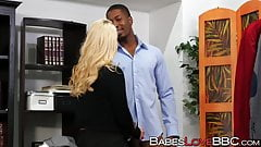 Seductive AJ Applegate bangs with horny football player