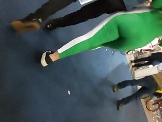 Body suite ass Super sexy tight asses in hot green body suits