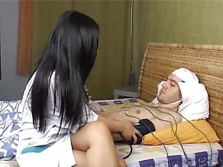 Nurse sucks patients cock Hot asian korean teen nurse helpng her white russian patient