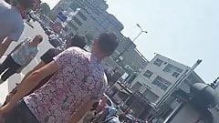 Spy bust woman romanian
