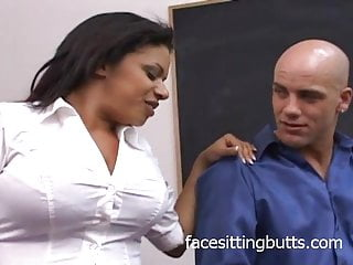 Filthy whore snorts cum - Huge natural tits on a filthy whore