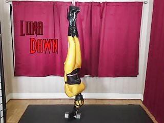 Live bondage camera - Luna dawn living doll inverted