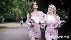 Private.com -Coed Sluts Lana Harding & Honor May Fuck & Suck