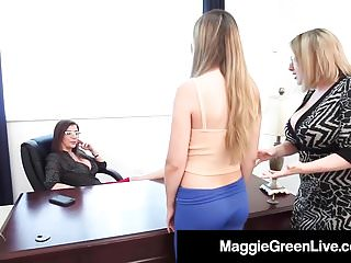 Videos of teachers fucking students - Teacher maggie green principal sara jay fuck bad student