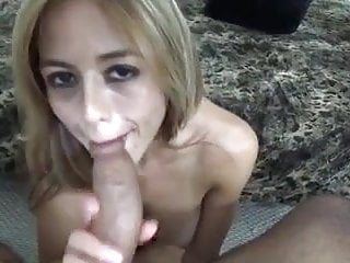Pussy is dripping from bick cock Sexy blonde sucks takes bick cock in ass