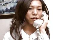 Hot secretary Kaoru Hayama fucks her bo - More at hotajp.com