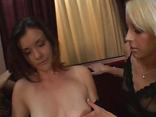 Starving girl fuck Frisky lesbian threesome eat each others starved wet twats then dildo fuck
