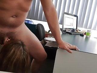 Office women blow job Office blow job from boss