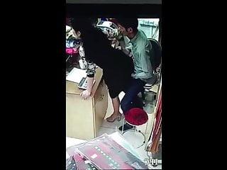 Voyeur coworker Busted fucking coworker comendo a rabuda no trabalho 9