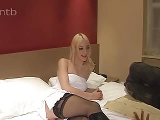 Pale blonde tiny dick Pale blonde cuckold wife takes two blacks