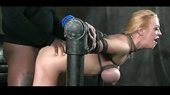 Tied Up Anal Deepthroat Slave