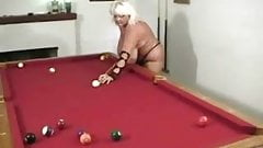 Fun at the Pool Table with Sugar by snahbrandy