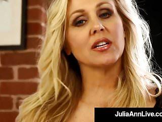 Adult dance lingerie novelties toy wear Mega milf julia ann finds out boy toy wearing her panties