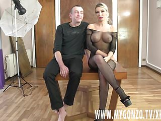 Big busted lingerie - Blonde bimbo rebeca cerrera gets busted by diether von stein