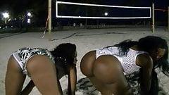South Beach Ebony Bubble Booty