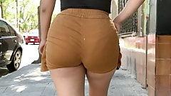 Deli Booty . Latina Brown Shorts 1