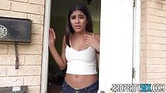 PropertySex - Latina speaks no English fucks her landlord