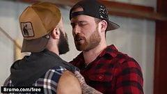 Tattooed Dude Jordan Levine Shove His Hard Raw Cock In Teddy