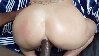 That PHAT PAWG ass is a delight to fuck and leave a creampie