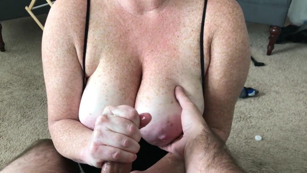 Big freckled boobs