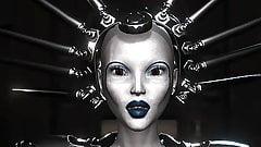 Uczennica niewolnica zerżnięta w dupę przez dickgirl science fiction w laboratorium