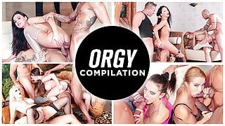 LETSDOEIT - HOT ORGY COMPILATION - NEW COLLECTION!