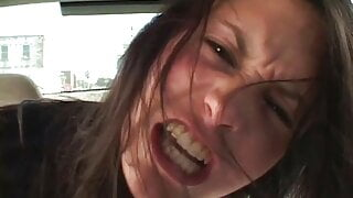 Leah Stevenson Gives Double Blowjob And Gets Anally Pounded