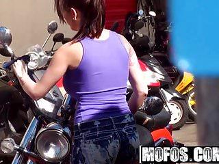 Biker babe sex videos Mofos - pervs on patrol - biker babe boobnanza starring asht