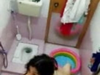 Masturbation by cousin mom sister Cousin sister bathing ,,recorded spycam ,,,