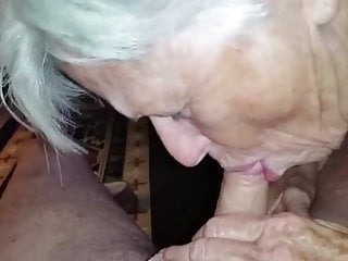 How to suck cock game - Granny did not forget how to suck cock ...
