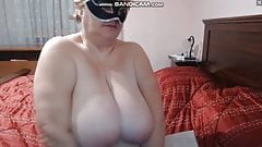 grandma makes it in front of the cam