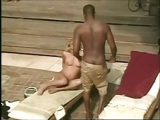 Tattoo blonde fucked in dentist chair Interracial fuck on the pool chair from 7 lives xposed