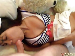 Sexy nurse adult costume Asian sex diary - asian slut in sexy sailor costume fucked