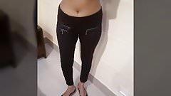 Bhabhi Hot Expose in Motel