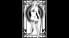 Flashing Beauties - erotic artworks by artist Kramer K.
