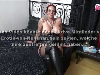 Rubber realistic latex silicon German latex milf with huge silicone tits threesome