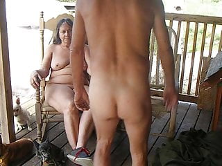 Olive del nudist ranch Connie n daves ranch
