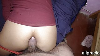 My husband fucked me hard in the ass before sleeping