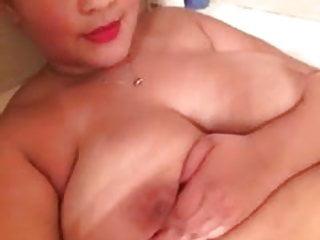 Boobs in a half shirt Bbw white half black big boobs 18 yr old in bathtub