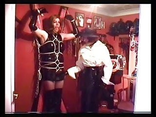 Japanese rope bondage forced enema - Alison thighbootboy and mistress paula - rope bondage