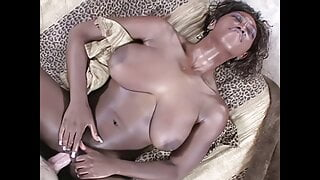 Delotta Brown, big booty and bigger boobs 2, upscaled to 4K