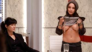 Nude Celebrities in Casting Scenes