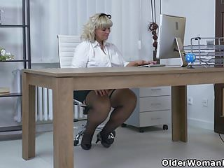 Boots time dimensions brightening facial - Bbw milf renatte will brighten up your day in the office