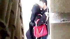 Arab Hijab First Time Sex at Street